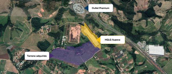 HGLG11 anuncia compra de terreno em SP através de uma SPE